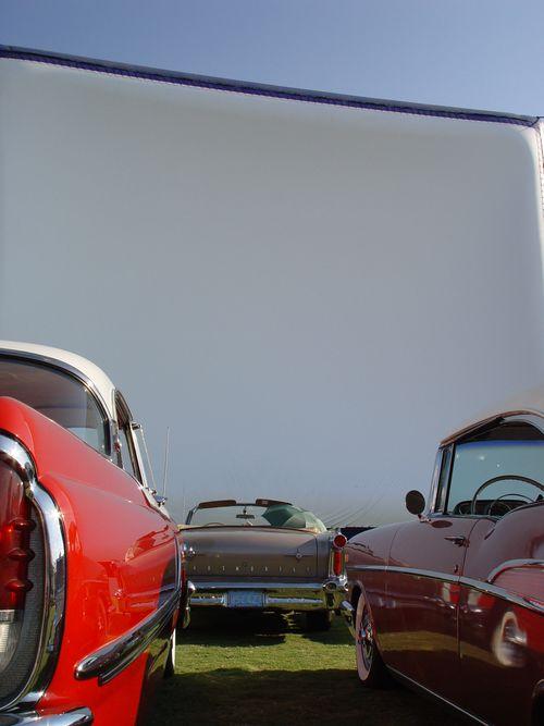 Airscreen retro drive-in