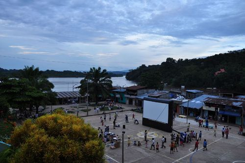 Airscreen outdoor movie